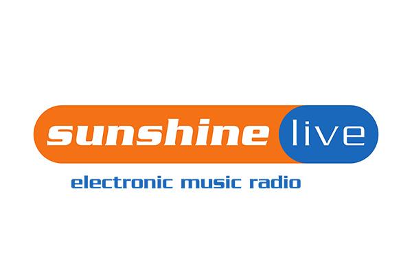Sunshine Live Logo in orange und blau